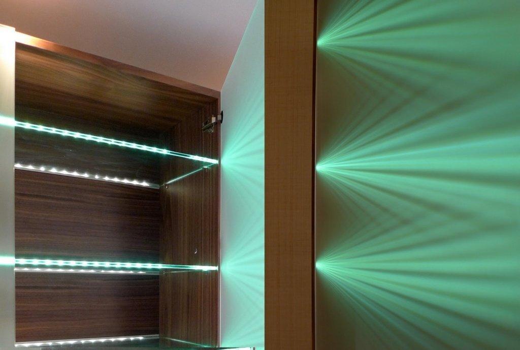 Светодиодная подсветка стеклянных полок своими руками - ЮгАгро